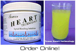 Tower's Heart Technology powdered Pauling therapy drink mix - eliminates 480 pills per month.
