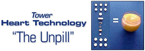 "Tower Heart Technology powdered nutritional drink mix - ""The Unpill"""
